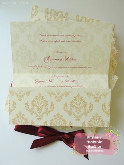 Invitatii handmade Kristina (1018)