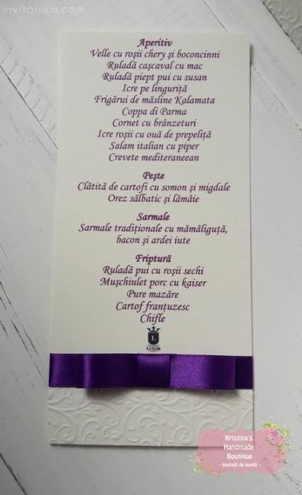 Invitatii handmade Kristina (1413)