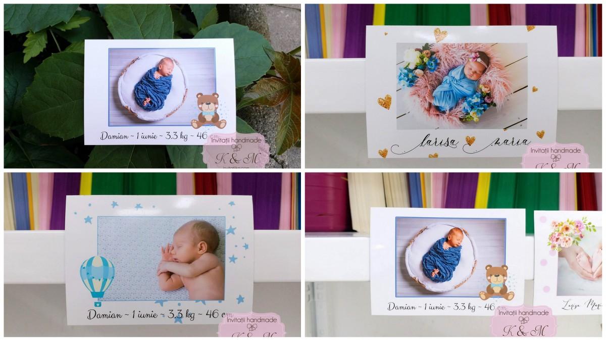 Marturii magnetice cu fotografii pentru botez sau nunta